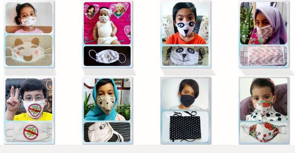 برگزاری چالش ساخت ماسک خانگی در روستای قاضی جهان