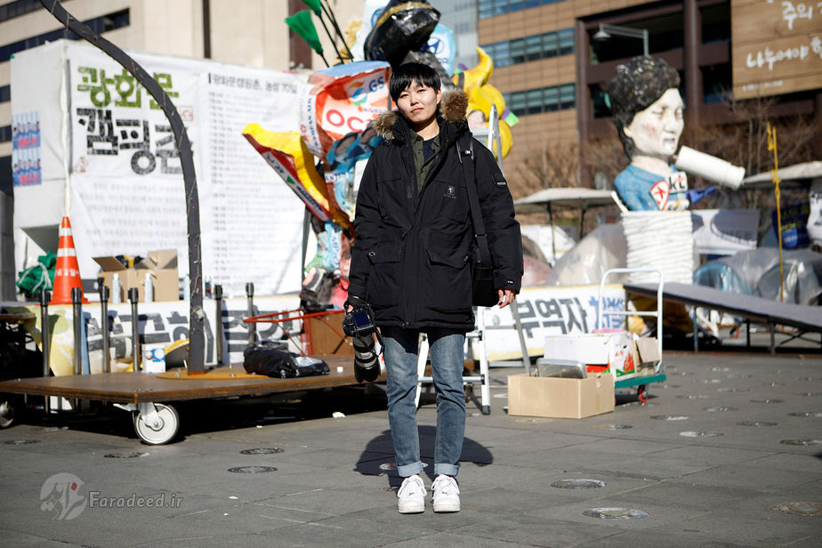 جونگ اون، 27 ساله، عکاس مستقل، کره جنوبی