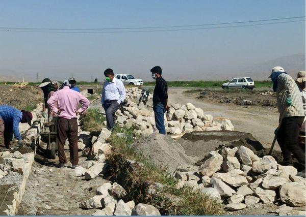 کانالهای آب سنتی دره شهر مهار شدند