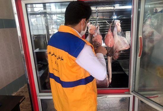 بازدید از مراکز عرضه فرآورده های خام دامی شهرستان مهران