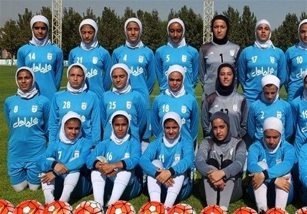 دیدار دوستانه دختران جوان ایران و اردن