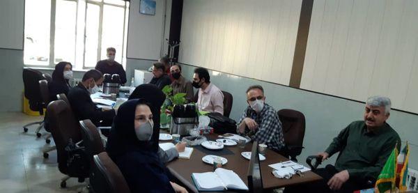 اولین جلسه کمبته  فنی تحدید حدود اراضی باغی در سازمان جهاد کشاورزی استان قزوین برگزار شد