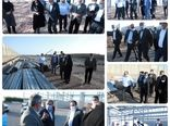 بازدید استاندار قزوین از یک واحد پرورش قارچ در حال احداث و همچنین طرح توسعه شرکت کشت و صنعت رامند مجار در آبیک