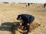 عملیات بذرکاری در سطح ۸۵۰هکتار از اراضی سیاهکوه اجرا شد
