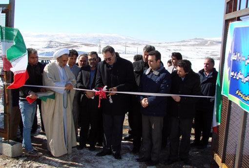 افتتاح 2 واحد مرغداری گوشتی به ظرفیت 20 هزار قطعهای در شهرستان اهر