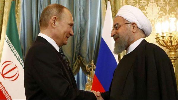 دیدار پوتین و روحانی در تهران