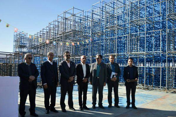 افتتاح بزرگترین سردخانه شهرستان سپیدان استان فارس