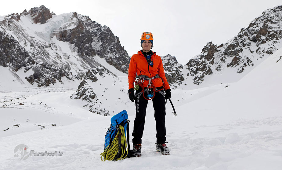 جولیا آرگونوا، 36 ساله، مربی کوهنوردی، قزاقستان