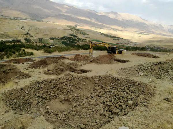 توسعه باغات در بیش از 100هکتار از اراضی شیب دارشهرستان اردل