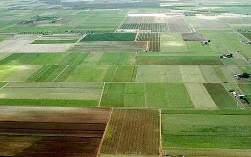 شناسایی اراضی مستعد طرحهای وابسته به کشاورزی