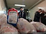ورود 1400 تن مرغ گرم به میادین سطح شهر تهران