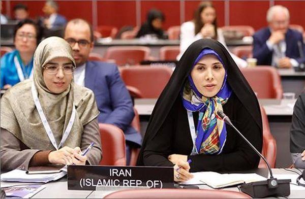 حسینی عضو هیئترئیسه مجمع نمایندگان زن IPU شد