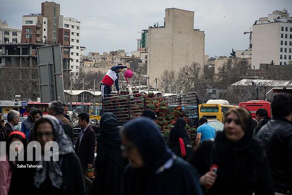 بازار شلوغ خرید عید