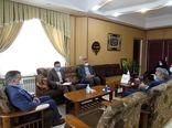 دیدار وحیدی نماینده مردم در مجلس شورای اسلامی با رییس سازمان جهاد کشاورزی