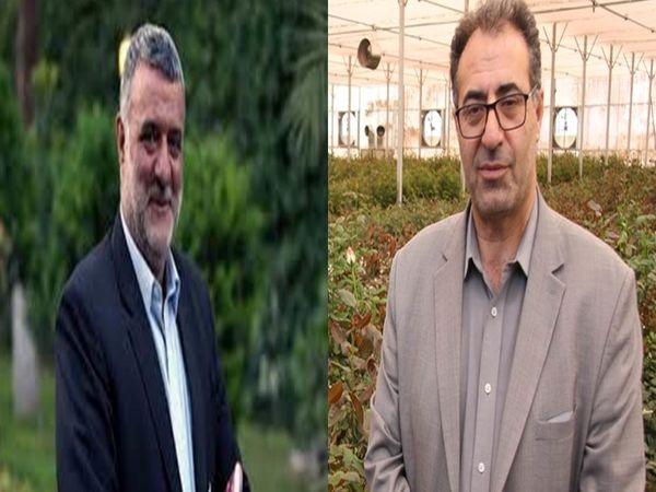 تقدیر وزیر جهاد کشاورزی از معاون بهبود تولیدات گیاهی سازمان جهاد کشاورزی استان تهران