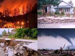 ۹۰ درصد مخاطرات طبیعی از جنس آب و هوایی است