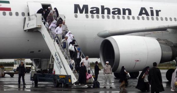 جزییات پرواز حجاج از فرودگاهها اعلام شد