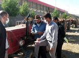 شماره گذاری 187 دستگاه از ماشین آلات کشاورزی بدون پلاک در شهرستان کلیبر