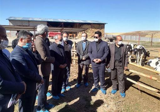 بهره برداری از دو طرح کشاورزی در نظر کهریز شهرستان هشترود