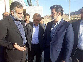 بازدید معاون وزیر کشور از پروژه های کشاورزی فارس