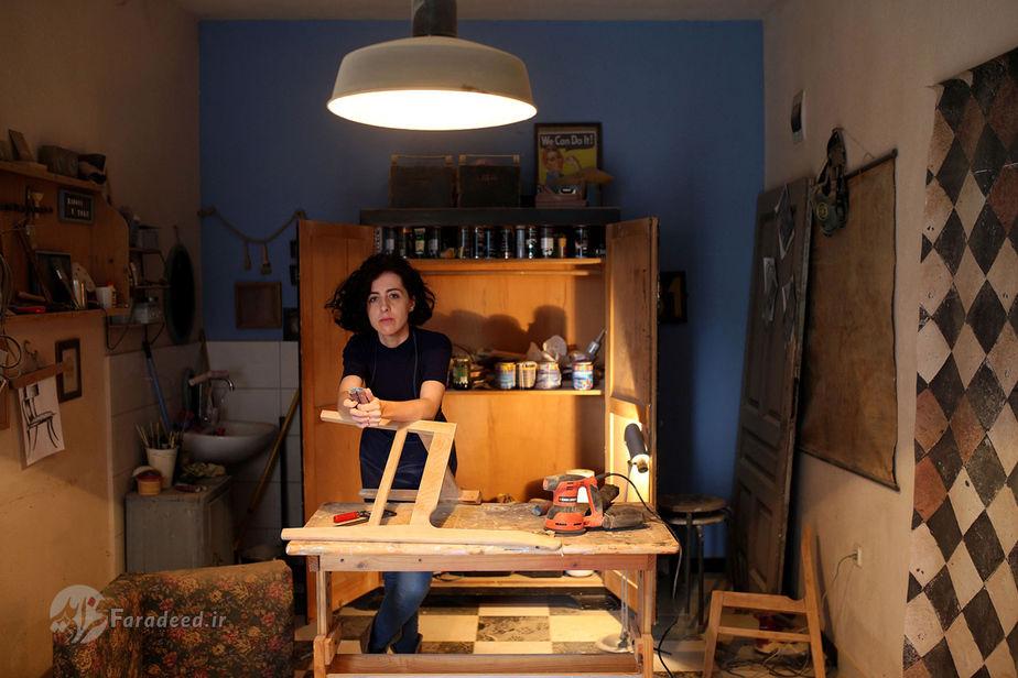 لیلا سلیمویچ، 34 ساله، ترمیم کننده مبلمان، بوسنی و هرزگوین