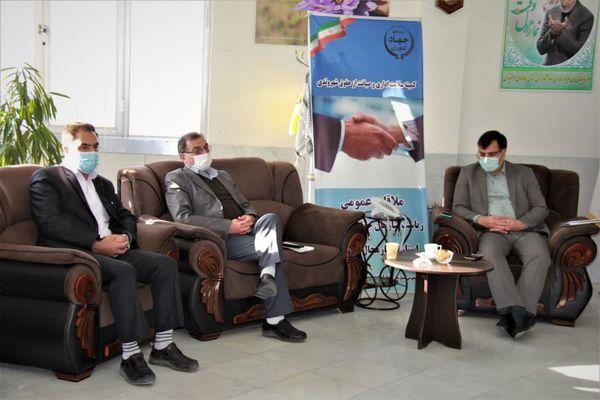 دیدار رئیس  سازمان جهاد کشاورزی استان با مدیر،اعضا و کارکنان هسته گزینش
