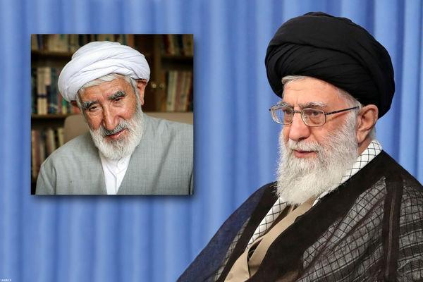 مقام معظم رهبری درگذشت حجتالاسلام احمدی را تسلیت گفتند