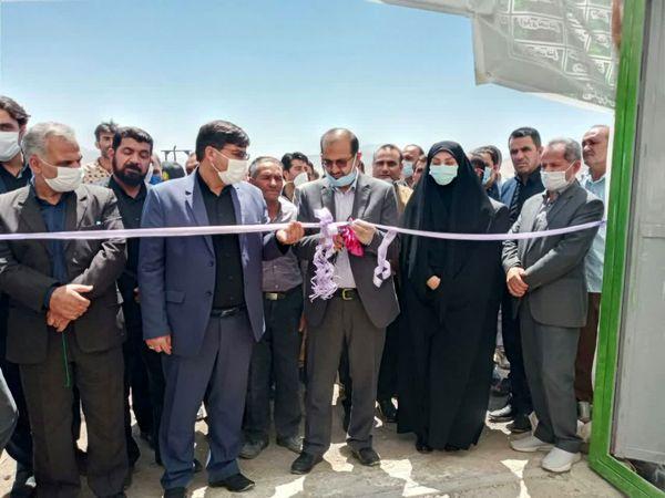 افتتاح گلخانه سبزی و صیفی در شهرستان خانمیرزا