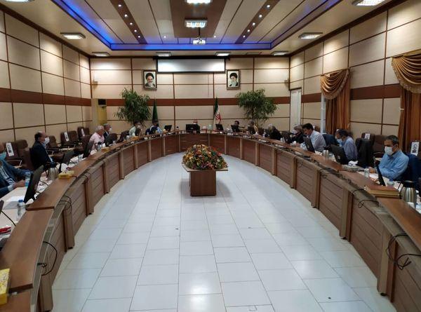 برگزاری شصت و چهارمین نشست شورای مدیران معاونت آب وخاک در کرج