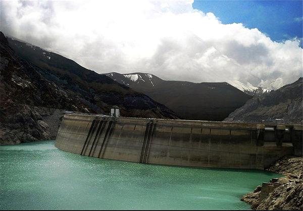 63 درصد مخازن سدهای استان تهران خالی است