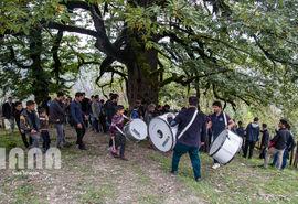 مراسم تاسوعا در روستای شامیلرزان