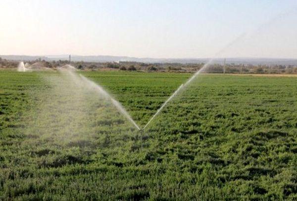 تجهیز ۳۵۰ هکتار از اراضی زراعی جونقان به سامانه های نوین آبیاری