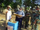 برگزاری کلاسهای آموزشی ترویجی مهارتی پرورش زنبورعسل برای 430 نفر -روز در عجب شیر