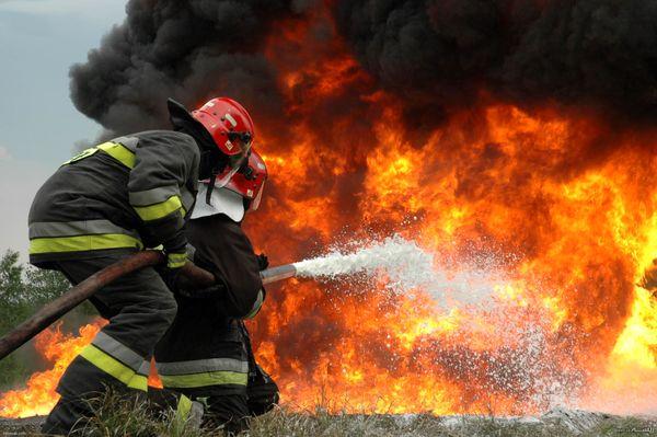 مهار آتش در منطقه حفاظتشده چاتیز جهرم