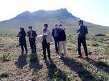 بازدید کارگروه استانی توسعه باغات دیم در اراضی شیبدار شهرستان کیار