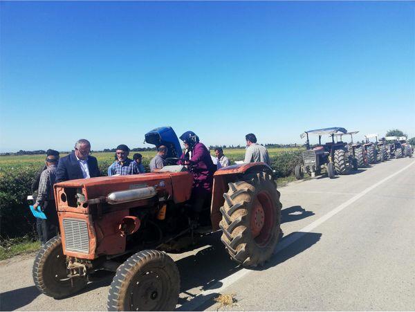 1135 دستگاه ماشین آلات کشاورزی فاقد پلاک در بهشهر شناسایی شد/پلاک گذاری 400 دستگاه تراکتور