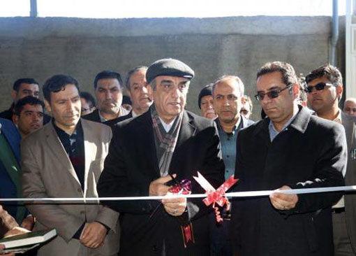 واحد تولید و فرآوری کشمش در شهرستان بناب افتتاح شد