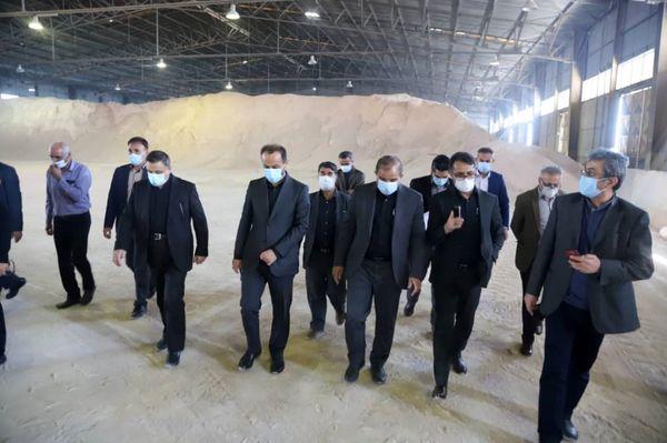نایب رییس کمیسیون کشاورزی مجلس از بندرشهید رجایی بازدید کرد