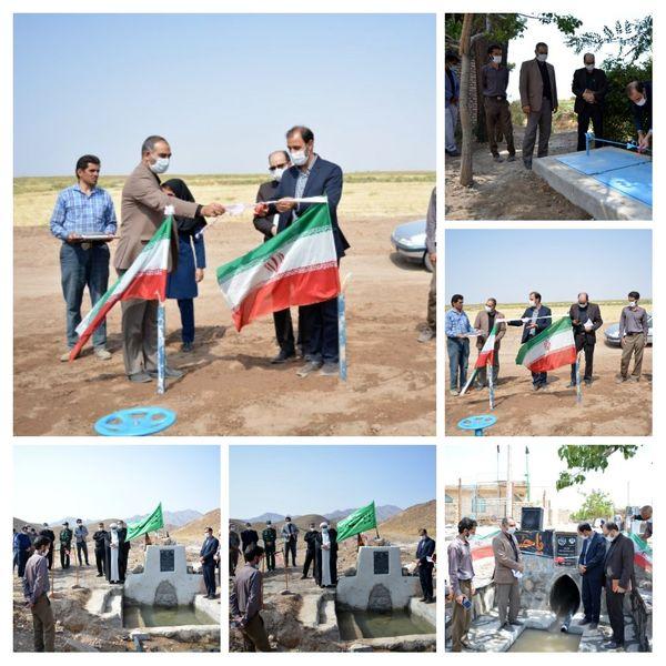 افتتاح و بهرهبرداری از پروژههای کشاورزی خوسف در هفته دولت