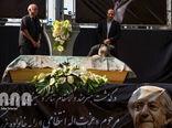 مراسم تشییع پیکر عزتالله انتظامی