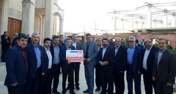حضور رییس سازمان جهادکشاورزی استان گلستان در مراسم 9 دی