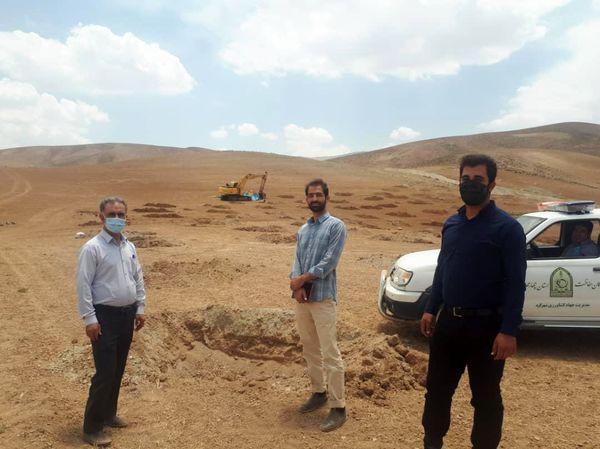 احداث 50 هکتار باغ دیم در اراضی شیبدار شهرستان شهرکرد