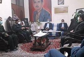 دیدار از خانواده شهید مسعود محمدی پور از شهدای جهادگر دفاع مقدس
