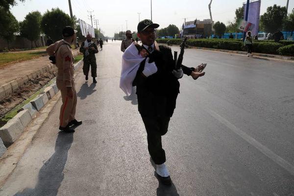 شهادت کودک خردسال در حمله تروریستی اهواز
