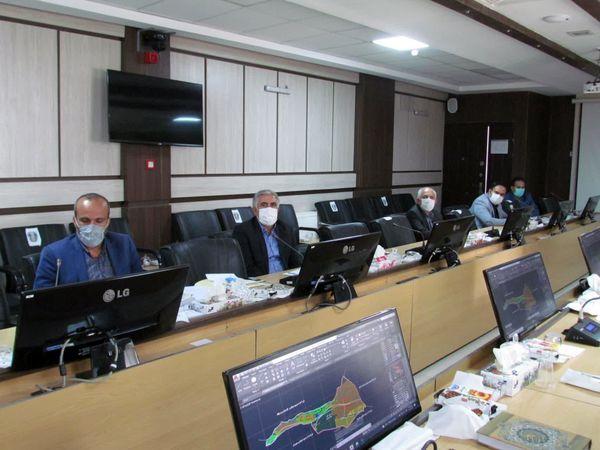 برگزاری جلسه کمیسیون رفع تداخلات استان خراسان شمالی