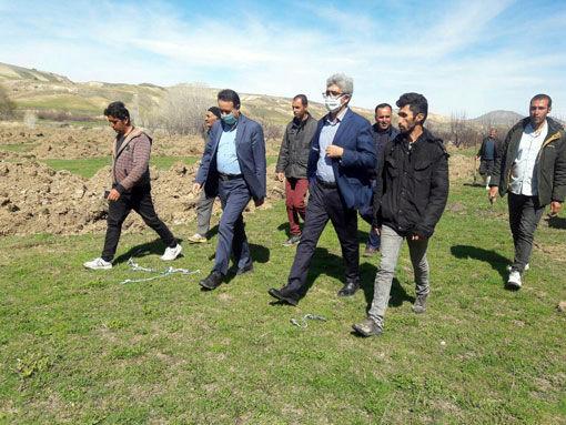 شروع عملیات اجرائی پروژه آبیاری تحت فشار تجمیعی 165 هکتاری روستای گله ده رود شهرستان هشترود