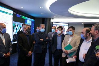 بازدید وزیر جهاد کشاورزی و رئیس ستاد مبارزه با قاچاق کالا از مرکز پایش و مدیریت هوشمند کشاورزی ایران