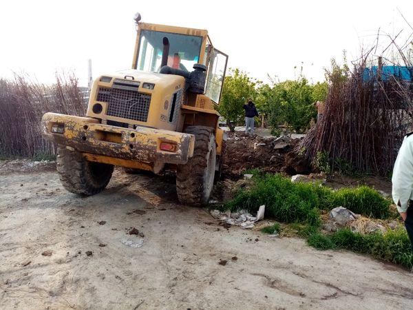 آزادسازی 12 هکتار از اراضی کشاورزی شهرستان پیشوا