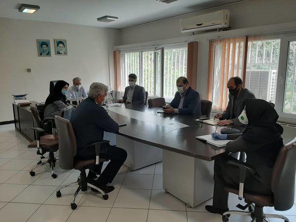 جلسه هماهنگی پروژه sida  در معاونت آب و خاک وزارت جهاد کشاورزی برگزارشد