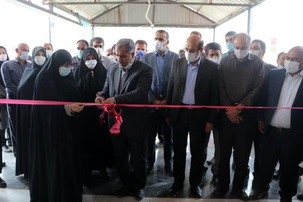 یک واحد کارخانه شالیکوبی در الموت غربی شهرستان قزوین افتتاح شد